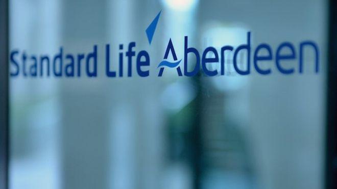 标准人寿Aberdeen的利润下降
