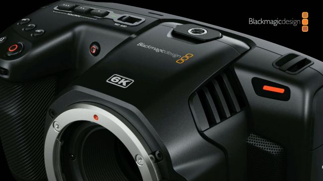 Blackmagic Pocket Cinema Camera 6K提高了视频分辨率