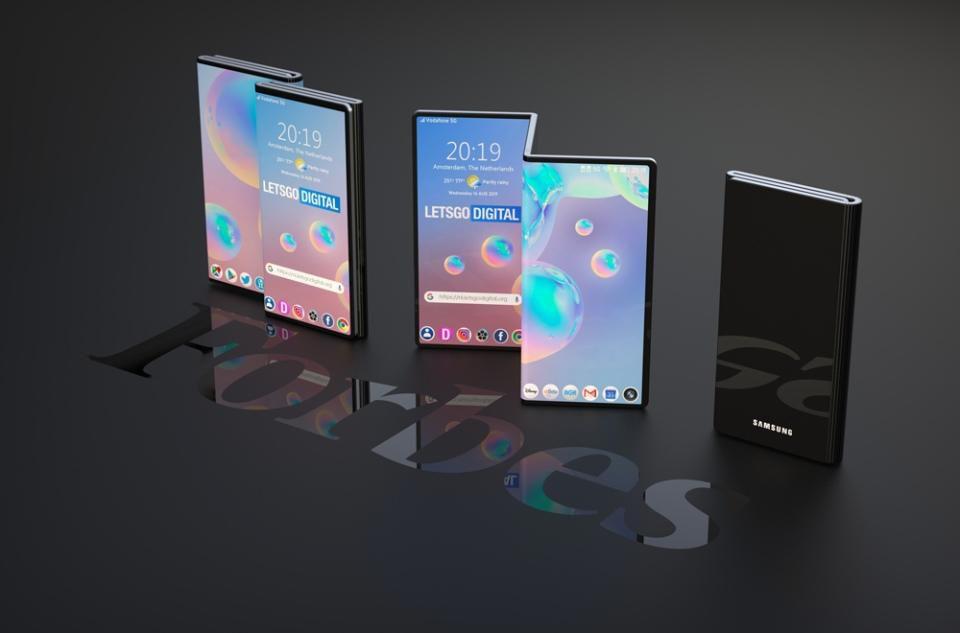 这是我们对三星革命性新Galaxy Fold Z的第一眼看法吗
