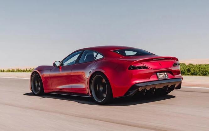 2020德拉科GTE电动轿车承诺提供6,491磅英尺的扭矩